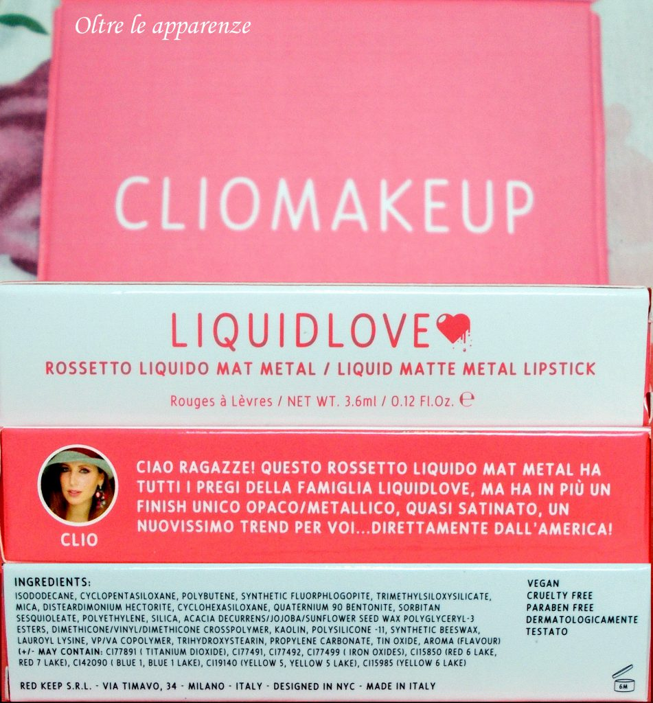 clio makeup liquid love