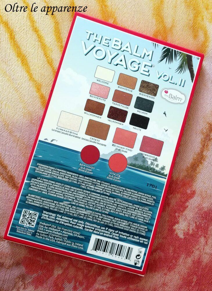 palette per le vacanze - 'The balm voyage vol. II
