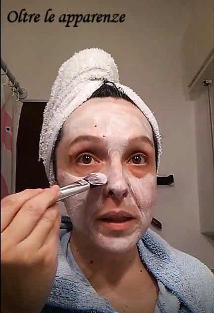-Maschera purificante HQ applicazione