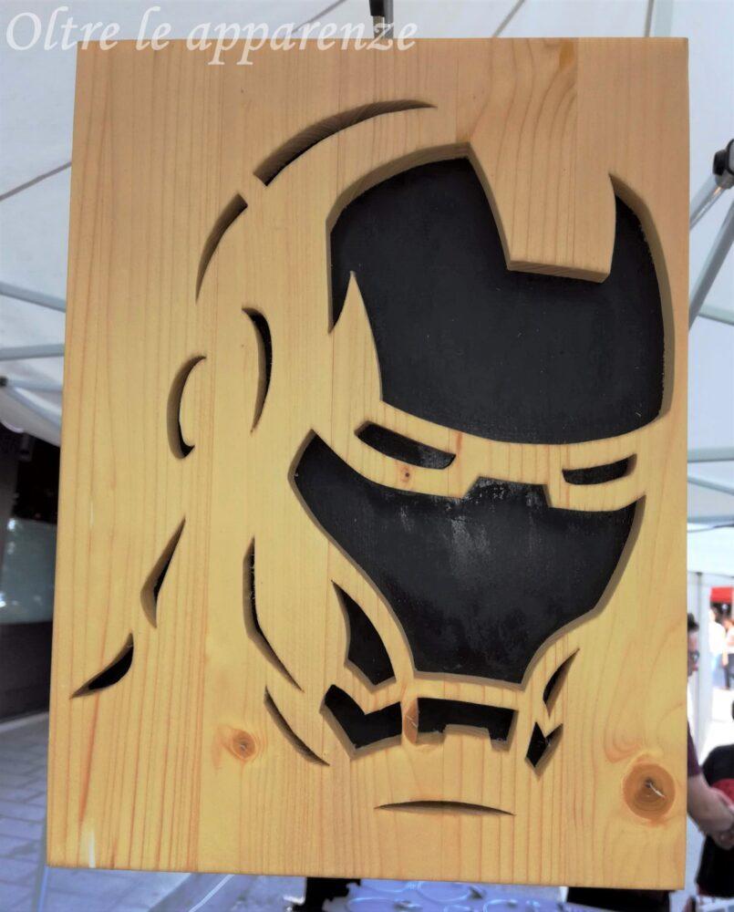 Riccioli e nodi legno