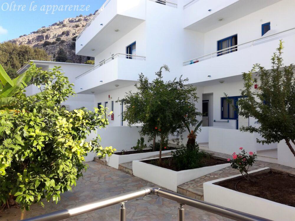 viaggio in Grecia rodi albergo