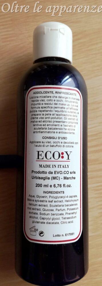 acqua micellare eco:y