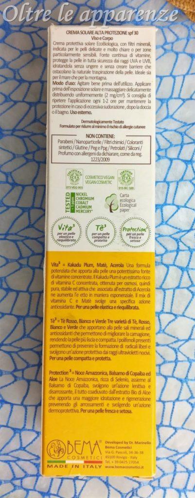 solari con filtro minerale bema