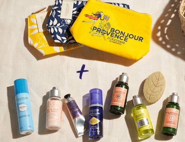 travel size l'occitane
