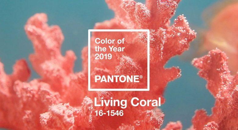 corallo il colore dell'estate 2019