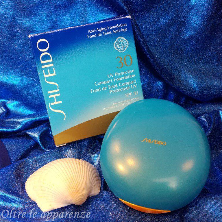 fondotinta compatto di Shiseido
