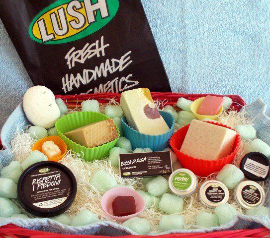 cosmetici solidi Lush