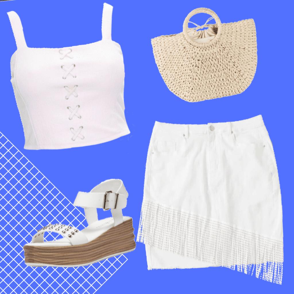 tendenze moda estate 2020 white
