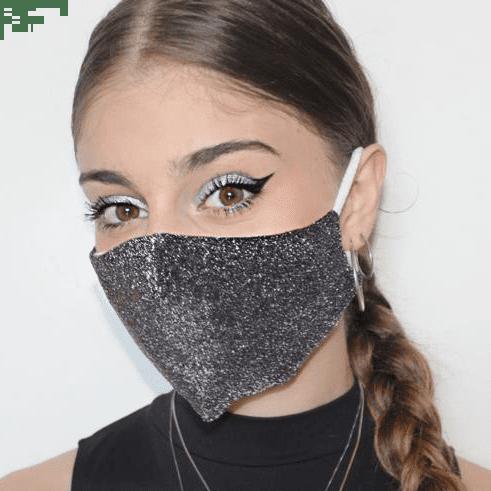 mascherina in lame