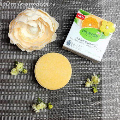 shampoo solido di Alverde