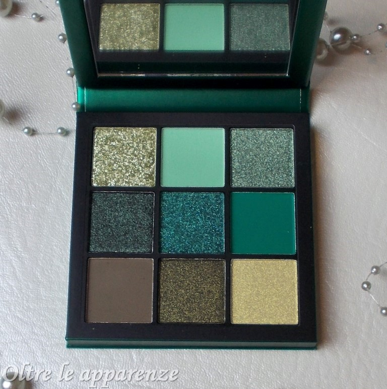 Palette Obsession di HUDA BEAUTY emerald
