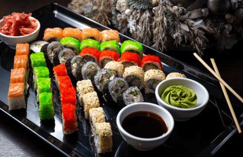 Natale da sola sushi