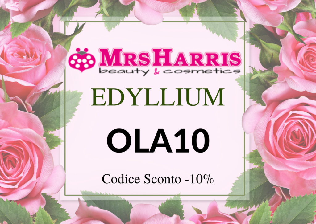 codice sconto edyllium